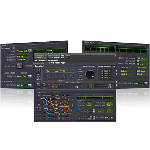 Eventide H3000 Factory Native AAX32/AU/VST Software Download