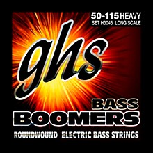 GHS H3045 Heavy Gauge Bass Boomers Bass Strings
