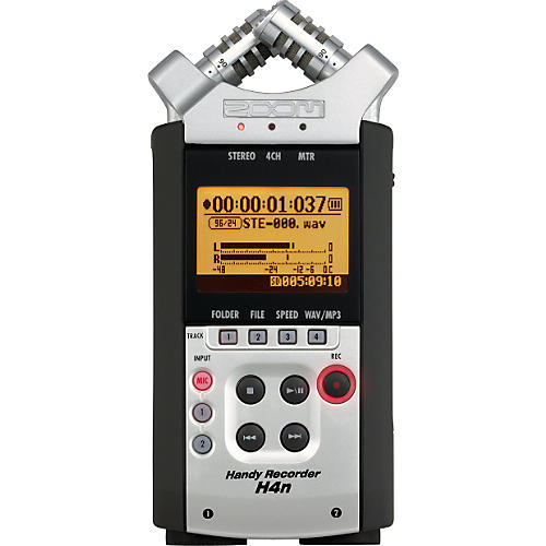 Zoom H4N Portable Digital Recorder with Accessory Pack