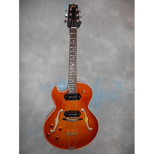 The Heritage H525 Left Handed Hollow Body Electric Guitar-thumbnail