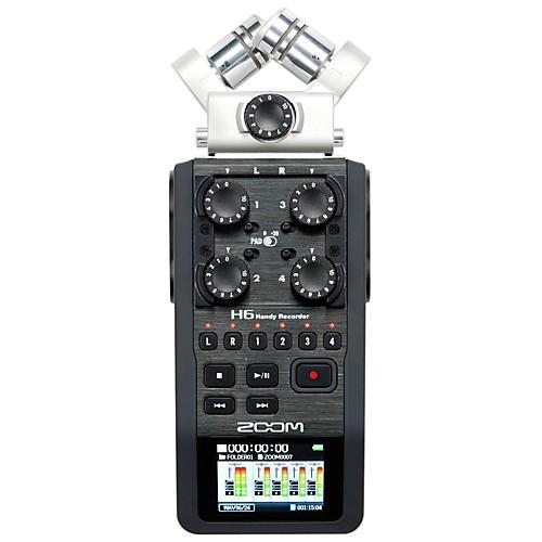 Zoom H6 Handy Recorder-thumbnail