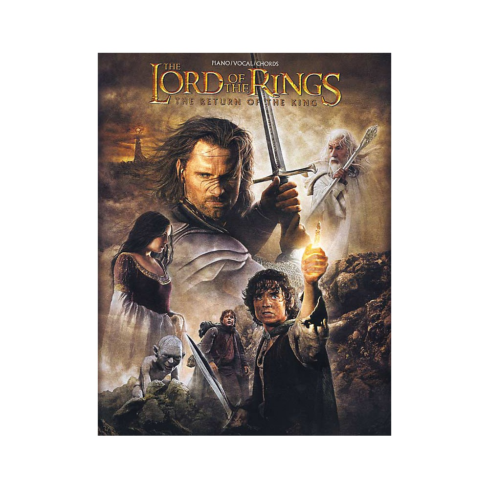 Alfred The Lord of the Rings The Return of the King Piano/Vocal/Chords Book 1281045522484