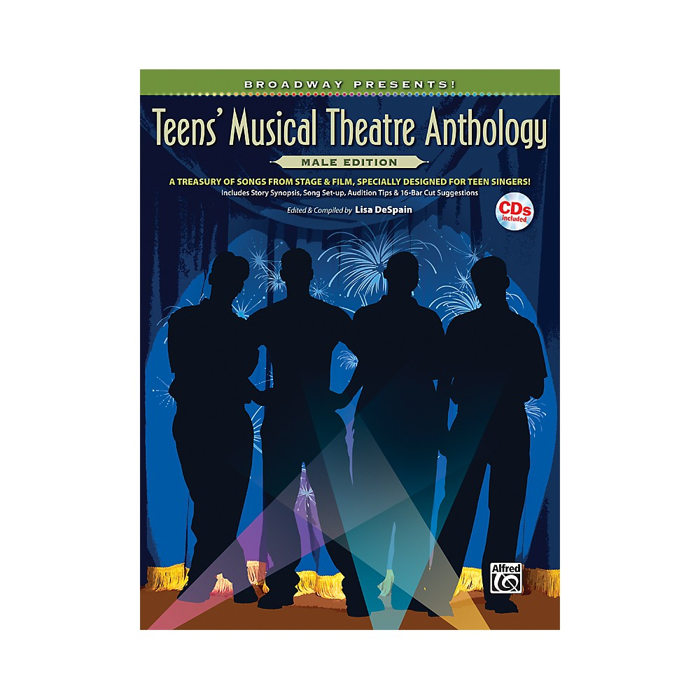 Broadway Presents! Teens' Musical Theatre Anthology Male Edition 1281045523060