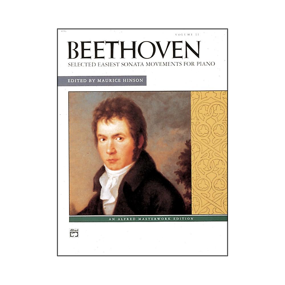 Selected Intermediate To Early Advanced Piano Sonata Movements Vol. 2 1281045523108