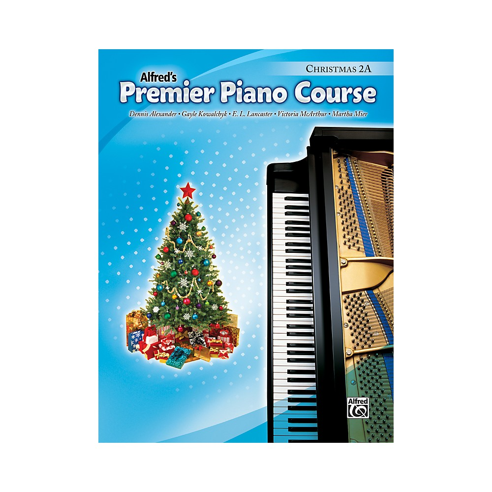 Alfred Premier Piano Course Christmas Book 2A 1281045523119