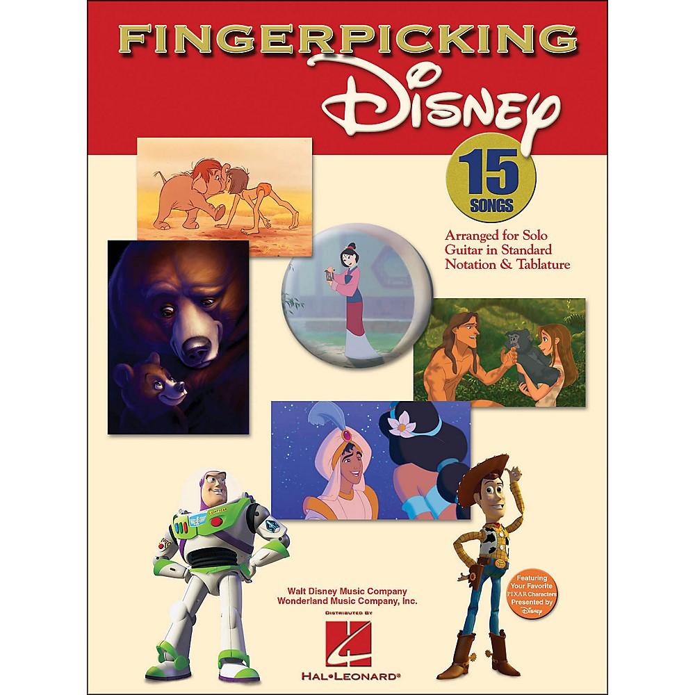 Hal Leonard Fingerpicking Disney Solo Guitar 1281539725819