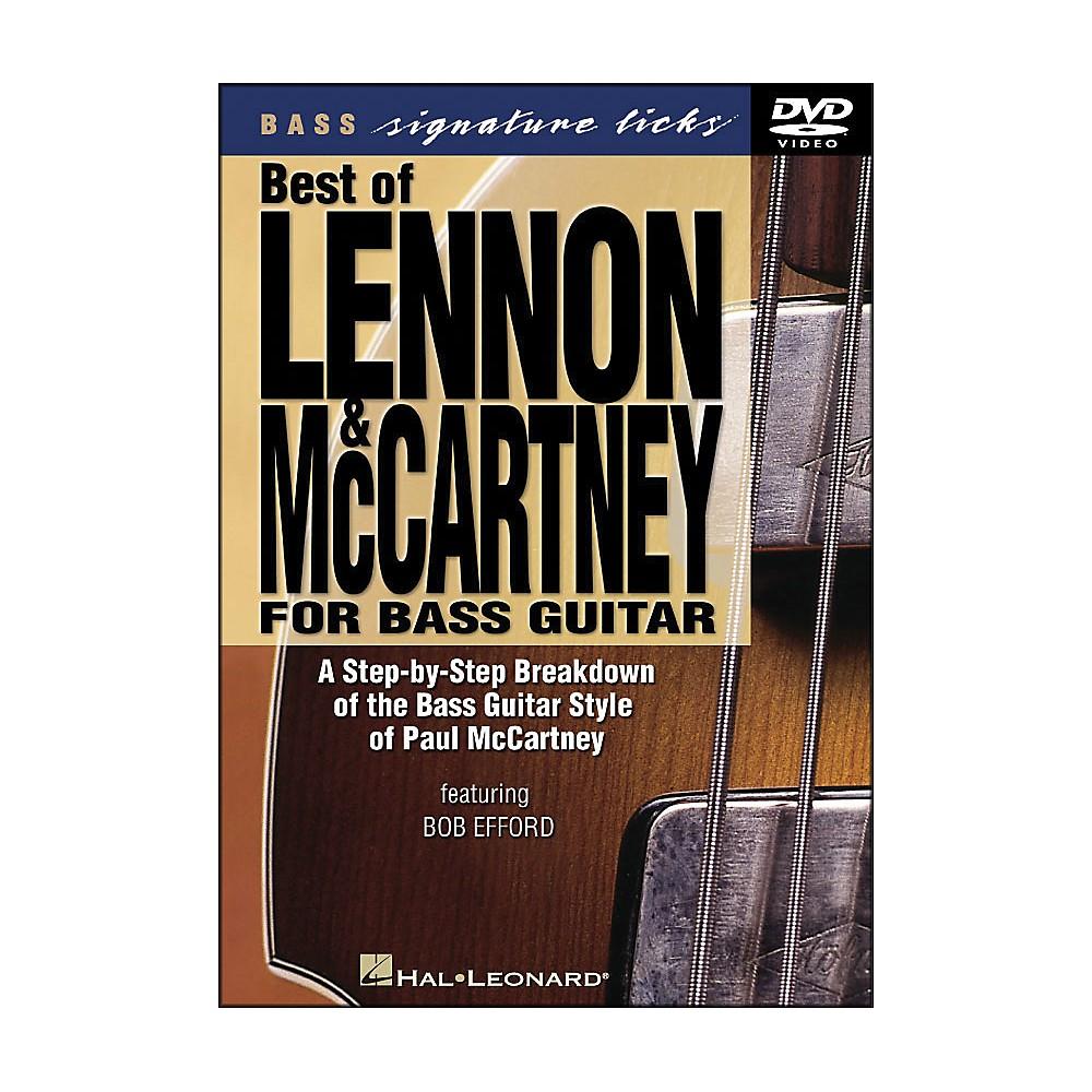 Best Of Lennon & Mccartney For Bass Guitar Signature Licks [Dvd] 1281539726201