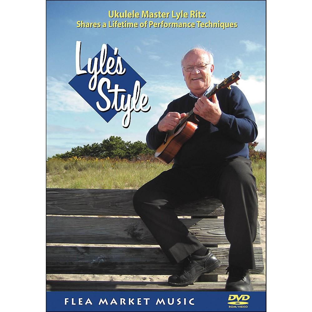 Hal Leonard Lyle's Style: Ukulele Master Lyle Ritz Shares A Lifetime Of Performance Technique (DVD) 1281539726267