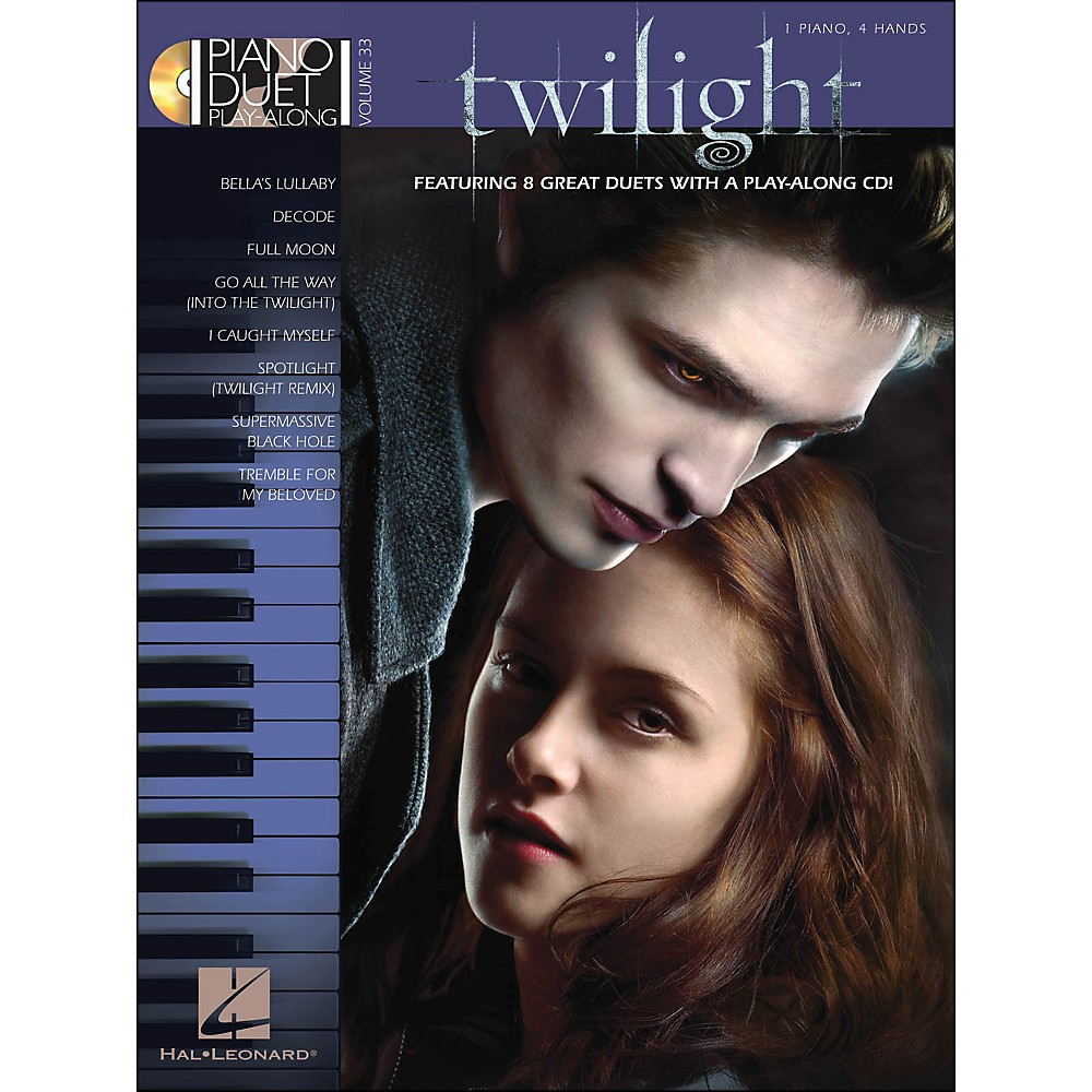 Hal Leonard Twilight Music From The Motion Picture Soundtrack Piano Duet Play-Along Vol 33 1281539726696