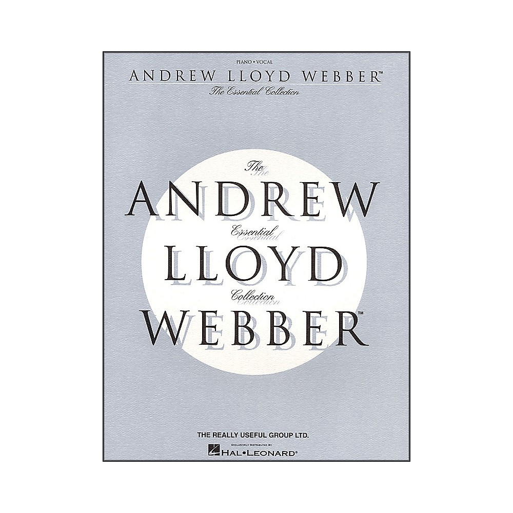 Andrew Lloyd Webber The Essential Collection [Book/Cd] 1281539726739