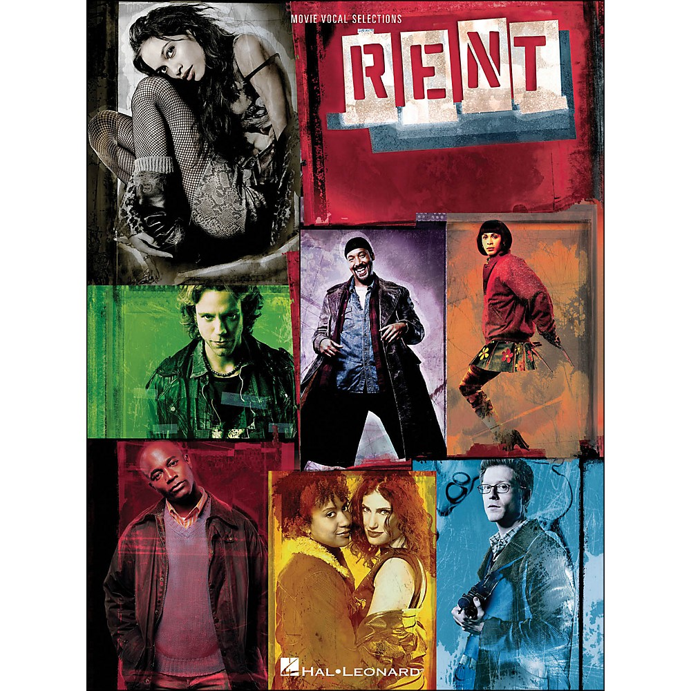 Rent Movie Vocal Selections [Book/Cd] 1281539726805