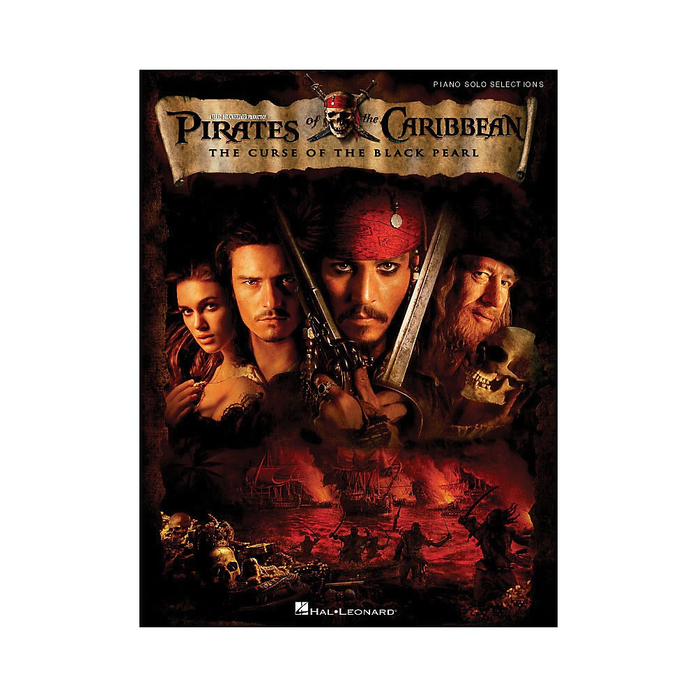 Hal Leonard Pirates Of The Caribbean - The Curse Of The Black Pearl arranged for piano solo 1281539726819