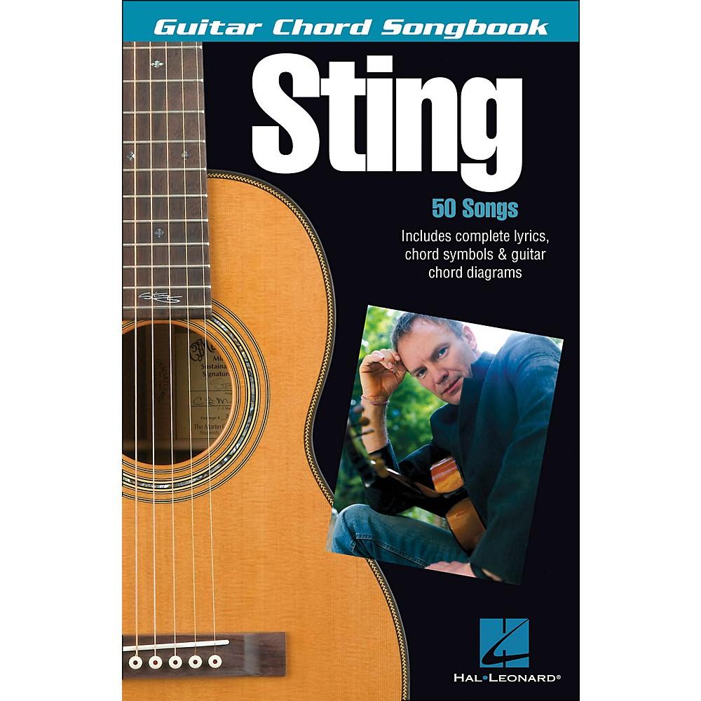 Hal Leonard Sting - Guitar Chord Songbook 1281539725882