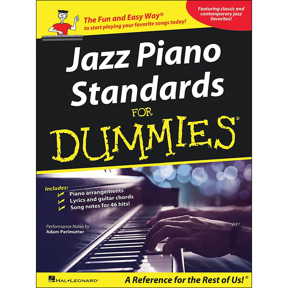 Hal Leonard Jazz Piano Standards for Dummies arranged for piano, vocal, and guitar (P/V/G)