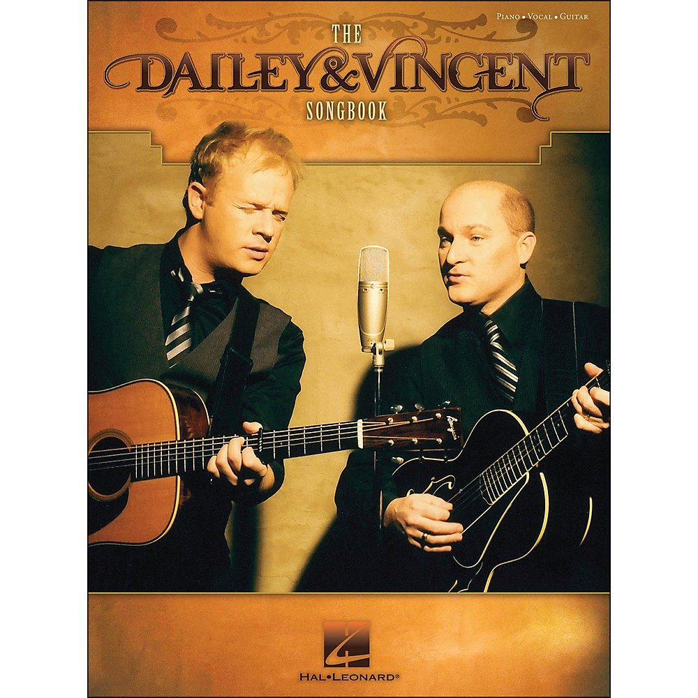 Hal Leonard The Dailey & Vincent Songbook arranged for piano, vocal, and guitar (P/V/G) 1281204297400