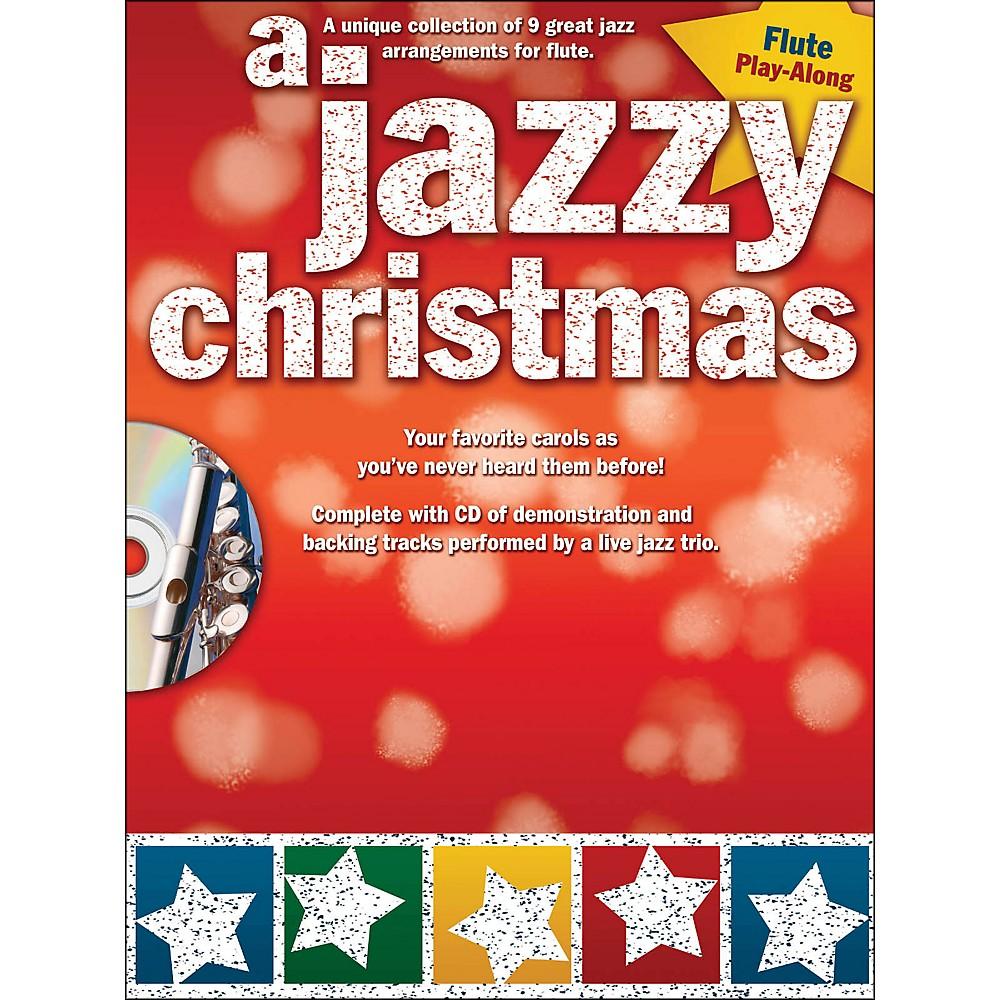 Hal Leonard A Jazzy Christmas - Flute Play-Along Book/CD 1283462205874