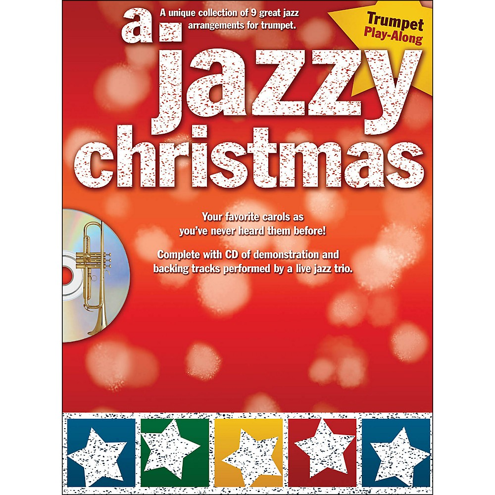 Hal Leonard A Jazzy Christmas Trumpet Play-Along Book/Cd 1283462205896