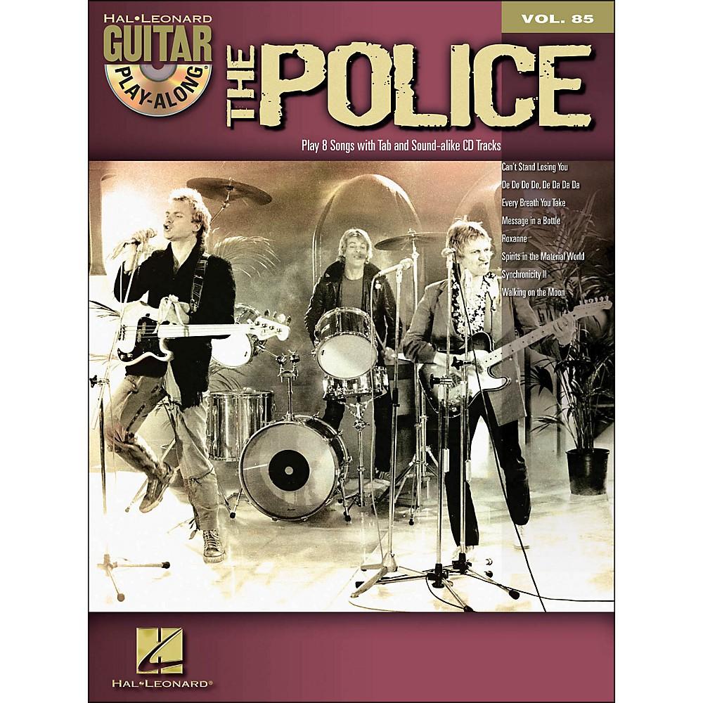 Hal Leonard The Police Guitar Play-Along Volume 85 Book/CD 1283462206729