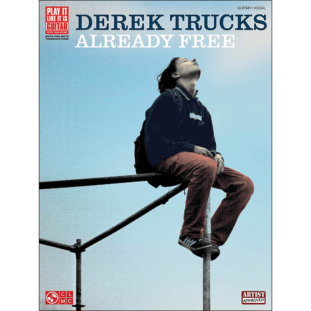 Cherry Lane The Derek Trucks Band - Already Free Tab Songbook 1283462206794