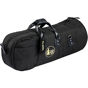 Gard Mid-Suspension Baritone Horn Gig Bag 44-Msk Black Synthetic W/ Leather Trim