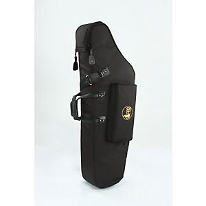 Gard Mid-Suspension Em Low A Baritone Saxophone Gig Bag 106-Msk Black Synthetic W/ Leather Trim