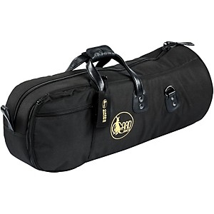 Gard Mid-Suspension Alto/Tenor Horn Gig Bag 45-Msk Black Synthetic W/ Leather Trim