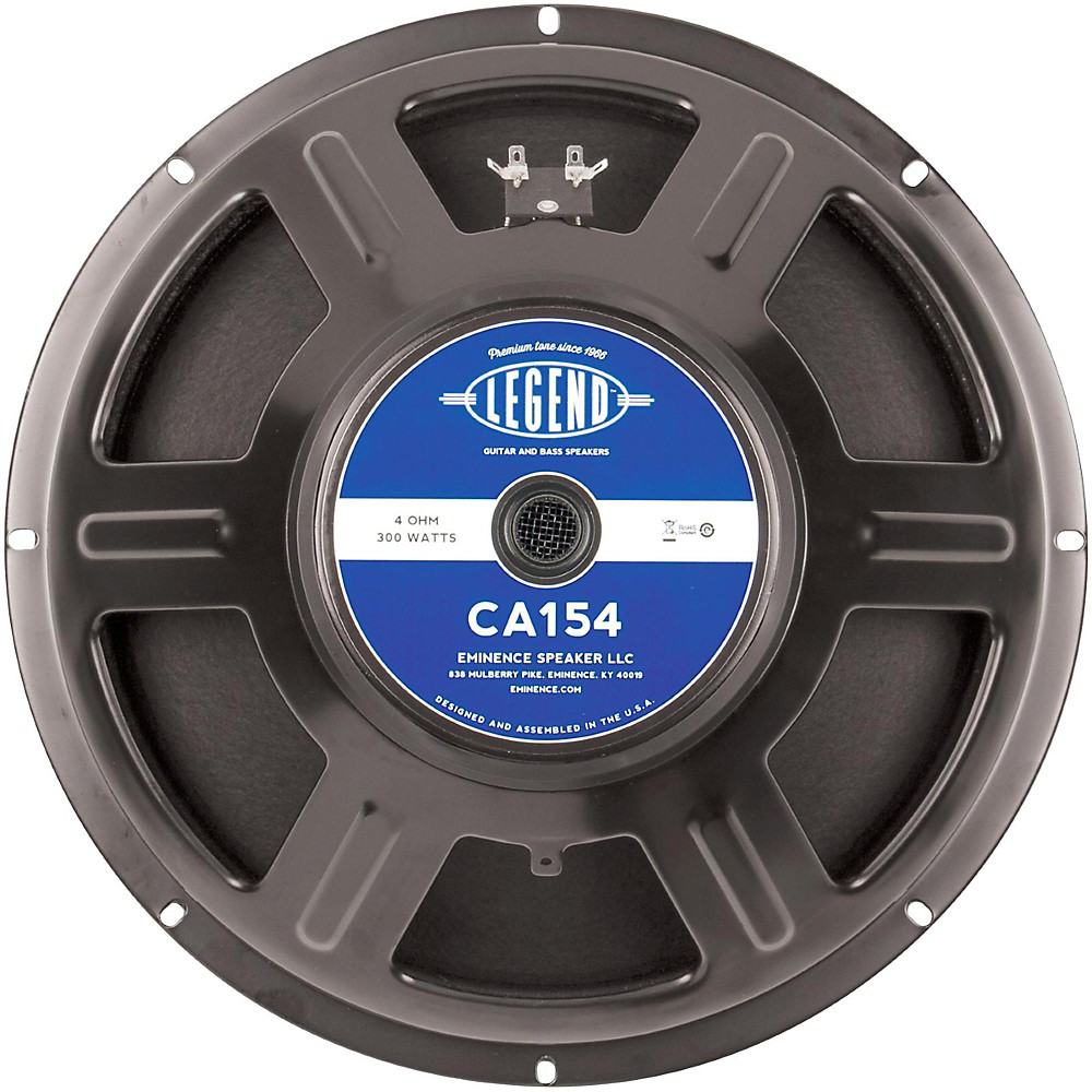 "legend ca154 15"" bass guitar speaker, 300 watts at 4 ohms 