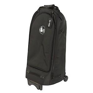 Gard Baritone Horn Wheelie Bag 44-Wbfsk Black Synthetic W/ Leather Trim