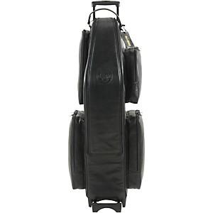 Gard Low A Baritone Saxophone Wheelie Bag 106-Wbflk Black Ultra Leather