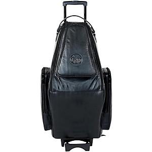 Gard Doubler's Tenor And Soprano Saxophone Wheelie Bag 125-Wbflk Black Ultra Leather
