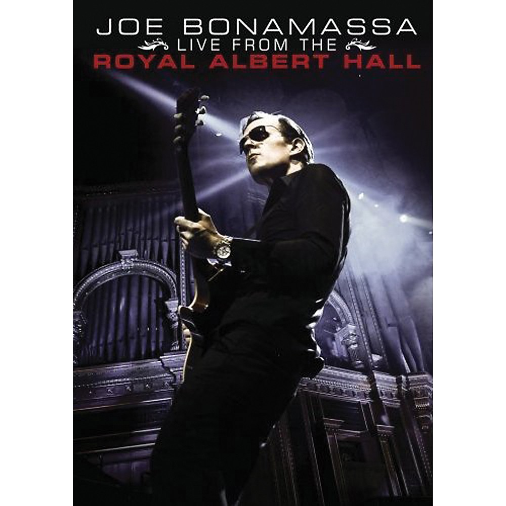 Musician's Gear Joe Bonamassa Live From The Royal Albert Hall 2 DVD Set 1285344892067