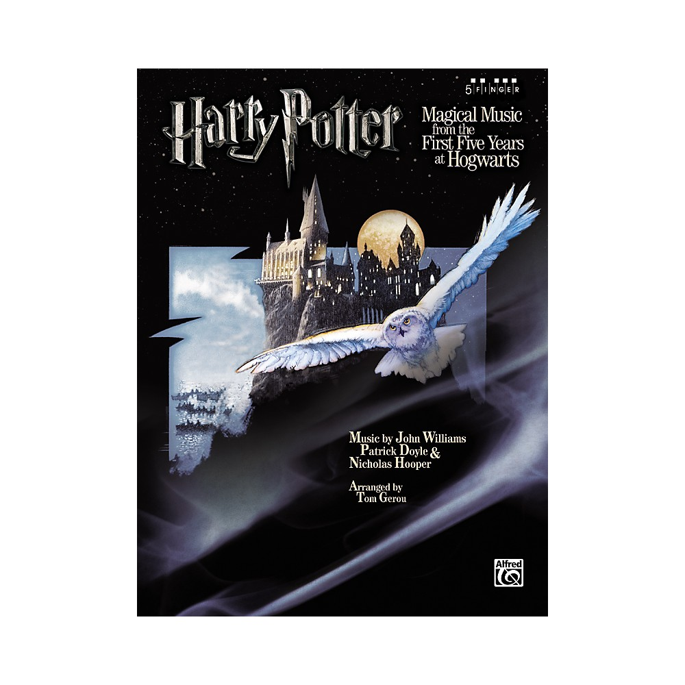Alfred Harry Potter Magical Music 5 Finger Piano 1288217329176