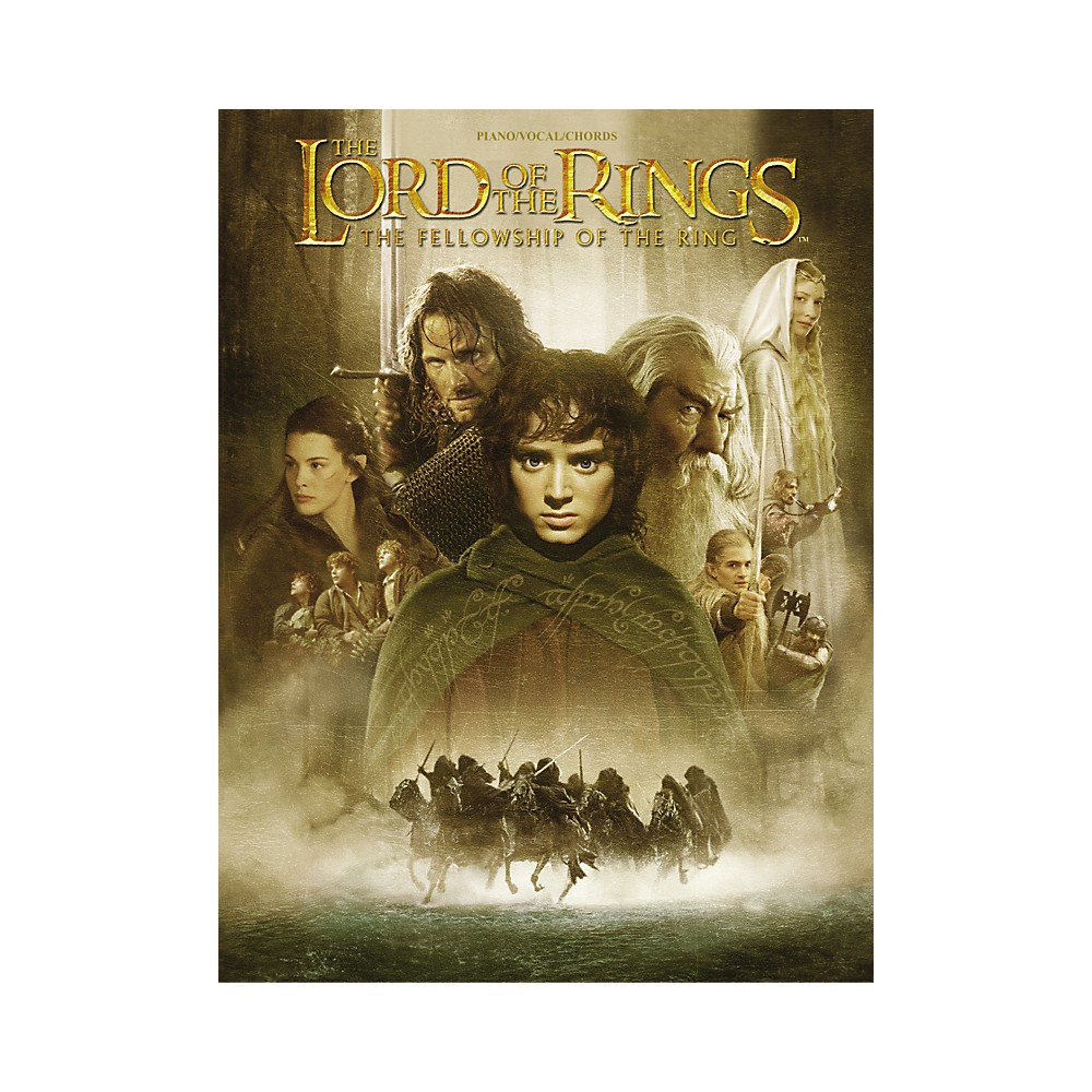 Alfred The Lord of the Rings The Fellowship of the Ring Piano/Vocal/Chords 1288217329579