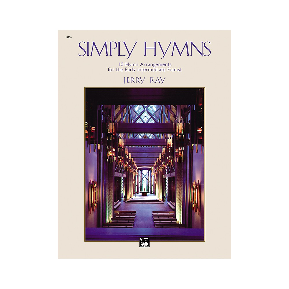 Alfred Simply Hymns Easy Piano 1288217329585
