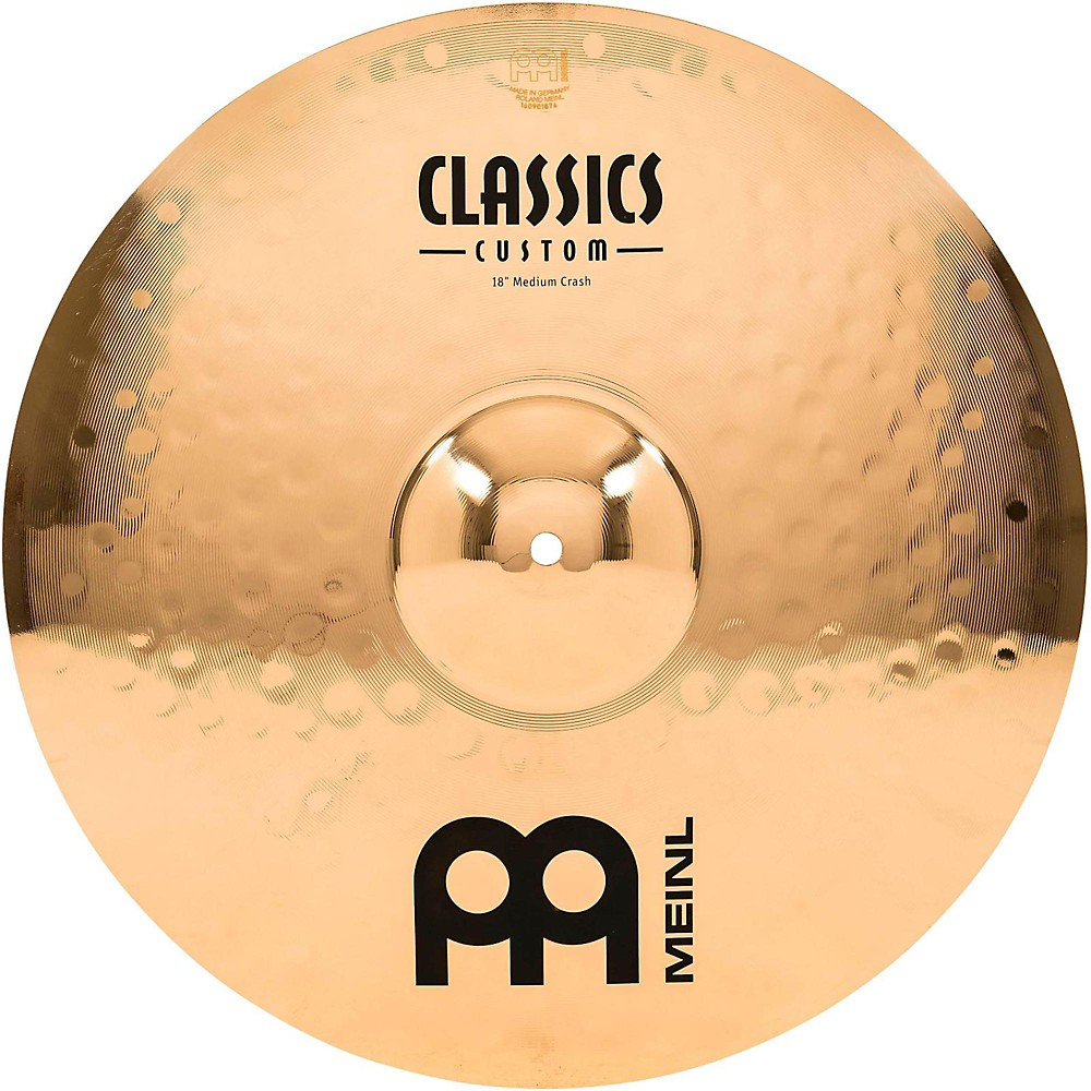 Meinl Classics Custom Medium Crash Brilliant 18 Inch