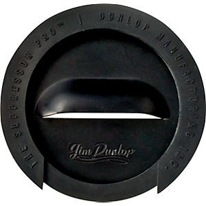 Dunlop The Suppressor Pro Sound Hole Cover 1-Hole Gold