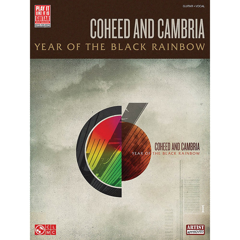 Cherry Lane Coheed And Cambria - Year Of The Black Rainbow Guitar Tab Songbook 1297873816147