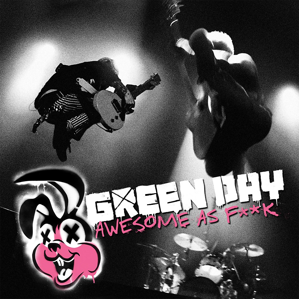 WEA Green Day - Awesome As F**K CD & BLU-RAY or DVD DVD 1297873816281