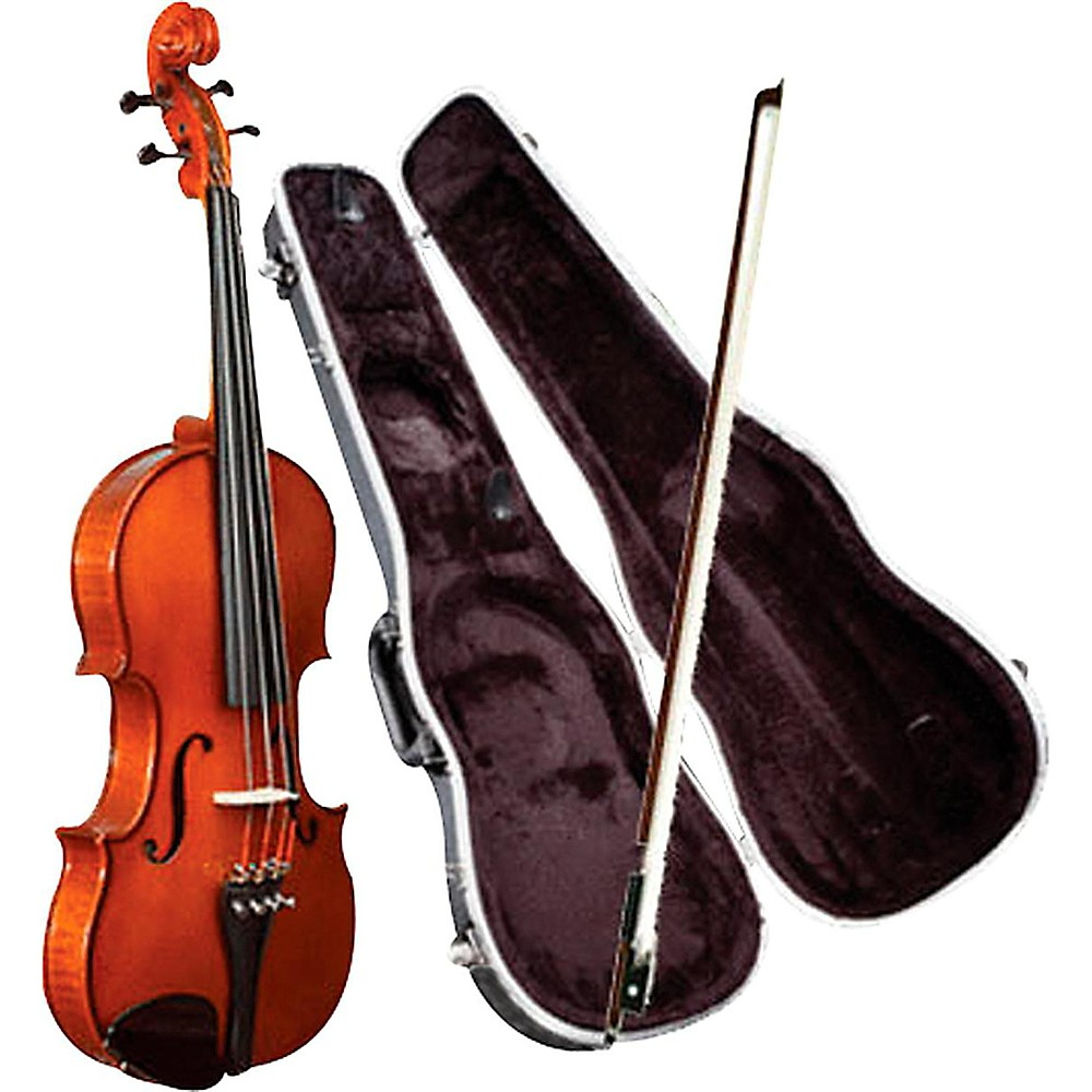 Knilling Sinfonia Violin Outfit W/ Perfection Pegs 3/4 1300476719696