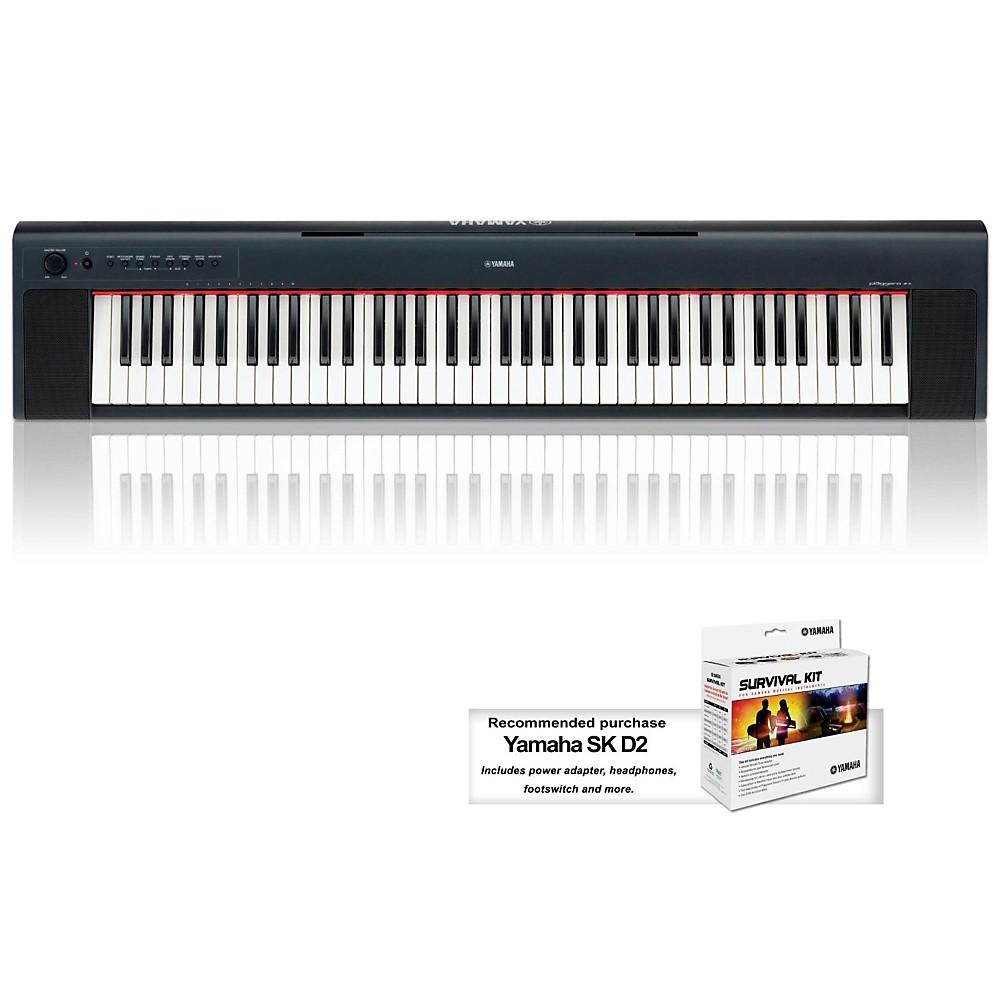 Yamaha NP31 76-Key Mid-Level Piaggero Ultra-Portable Digital Piano 1301341944392
