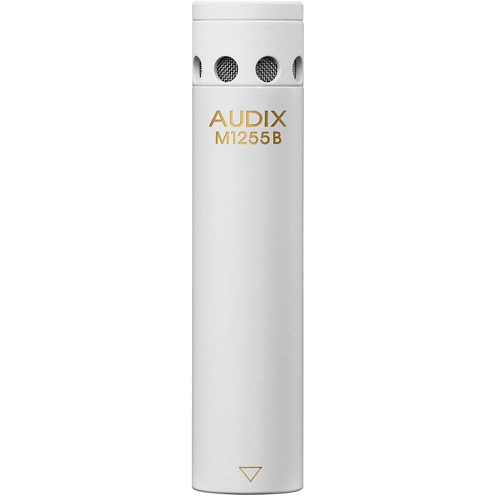 Audix M1255b Miniaturized Condenser Microphone Omni White 1303337805191