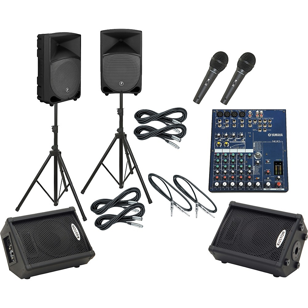 Yamaha Mg82cx / Th-12A Mains & Monitors Package
