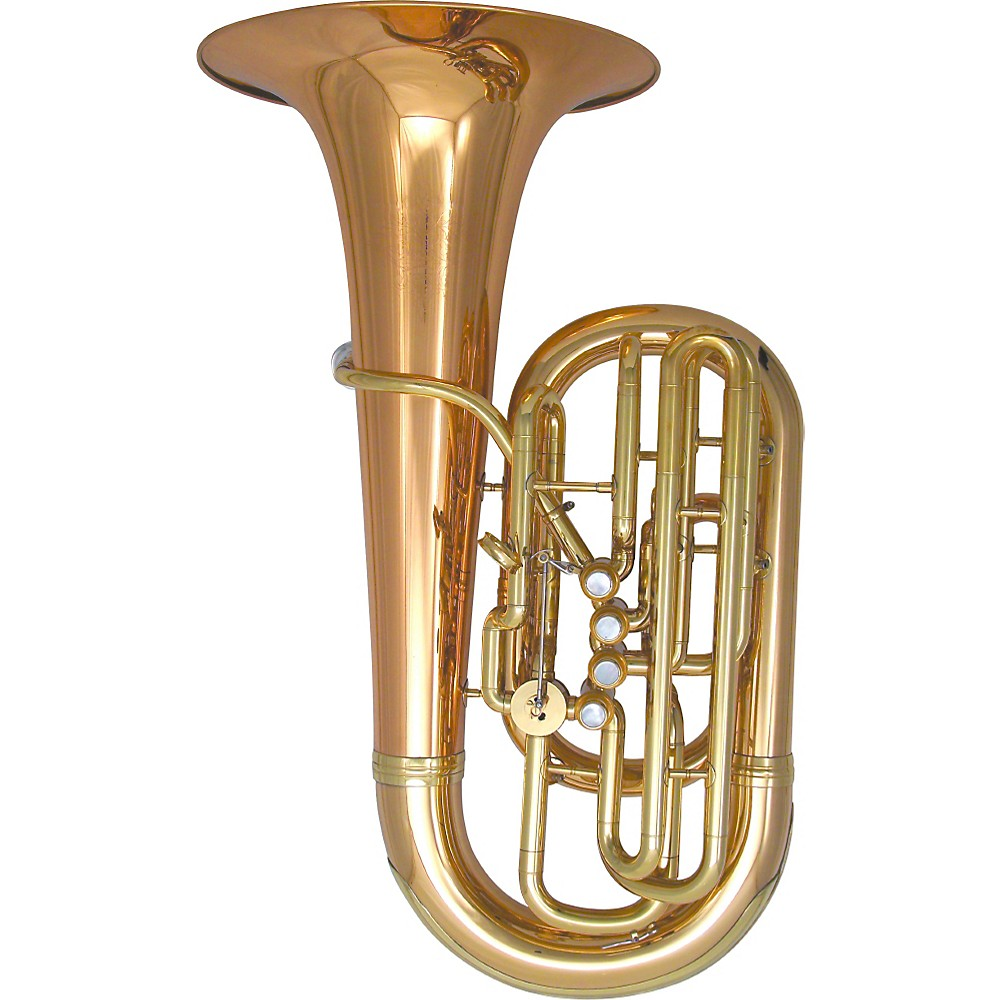 Kanstul Model 80-S 3/4 F Side Action Concert Tuba Silver 1306875721015