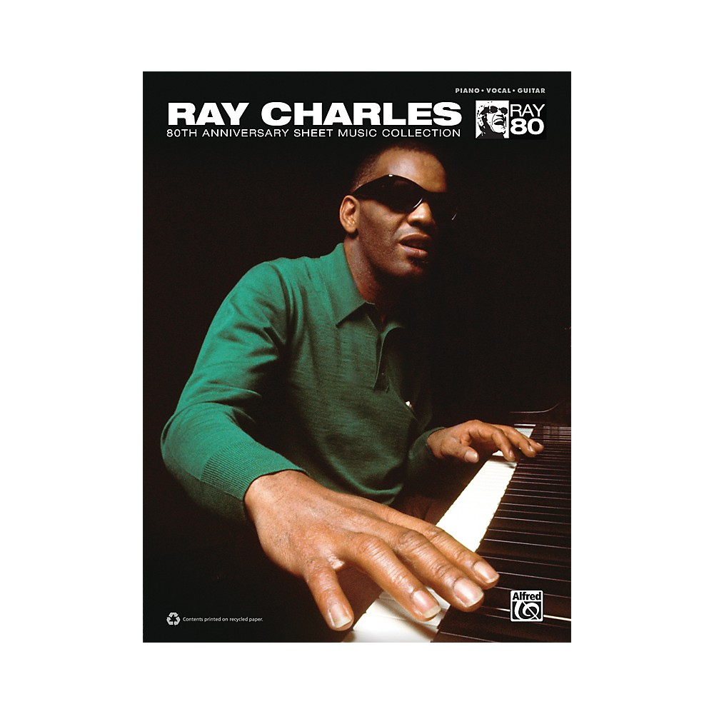 Alfred Ray Charles 80Th Anniversary Sheet Music Collection Book 1309565841791