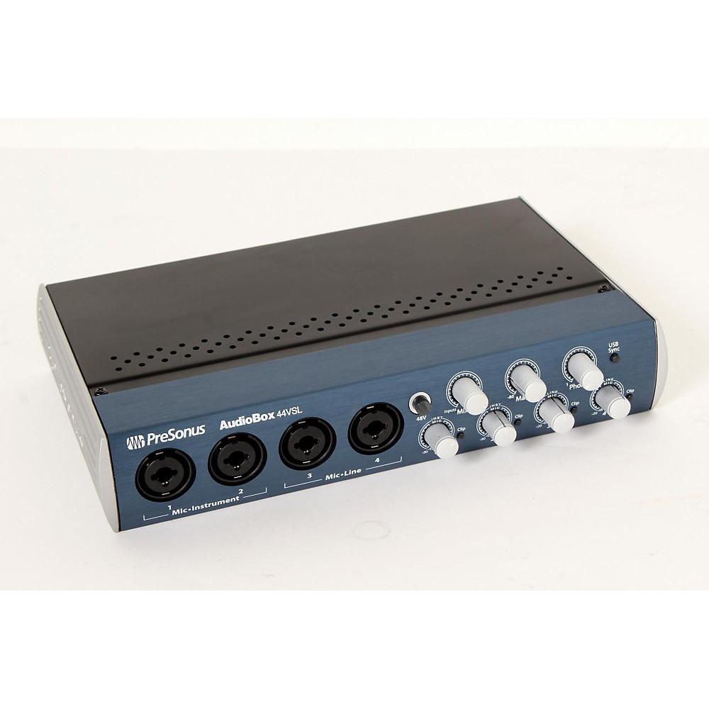 Presonus Audiobox 44VSL USB 2.0 Recording System Regular 888365487557