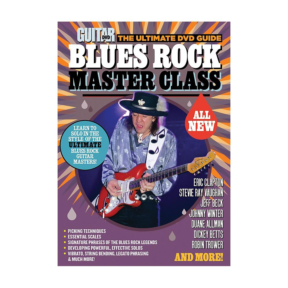 Alfred Guitar World Blues Rock Master Class DVD 1314112890815