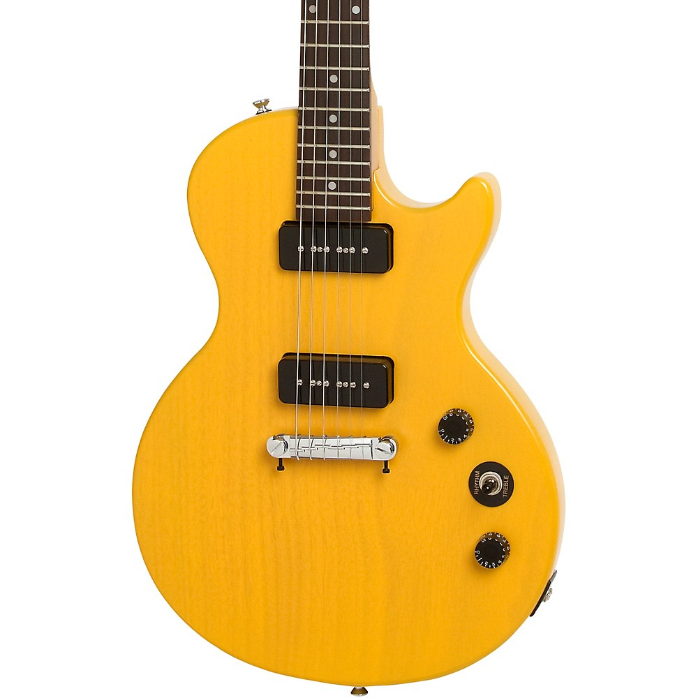 Epiphone Les Paul Special I P90 Electric Guitar Worn Tv Yellow 1314371183312