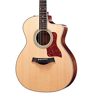 Taylor 214ce Rosewood/Spruce Grand Auditorium Acoustic-Electric Guitar Natural