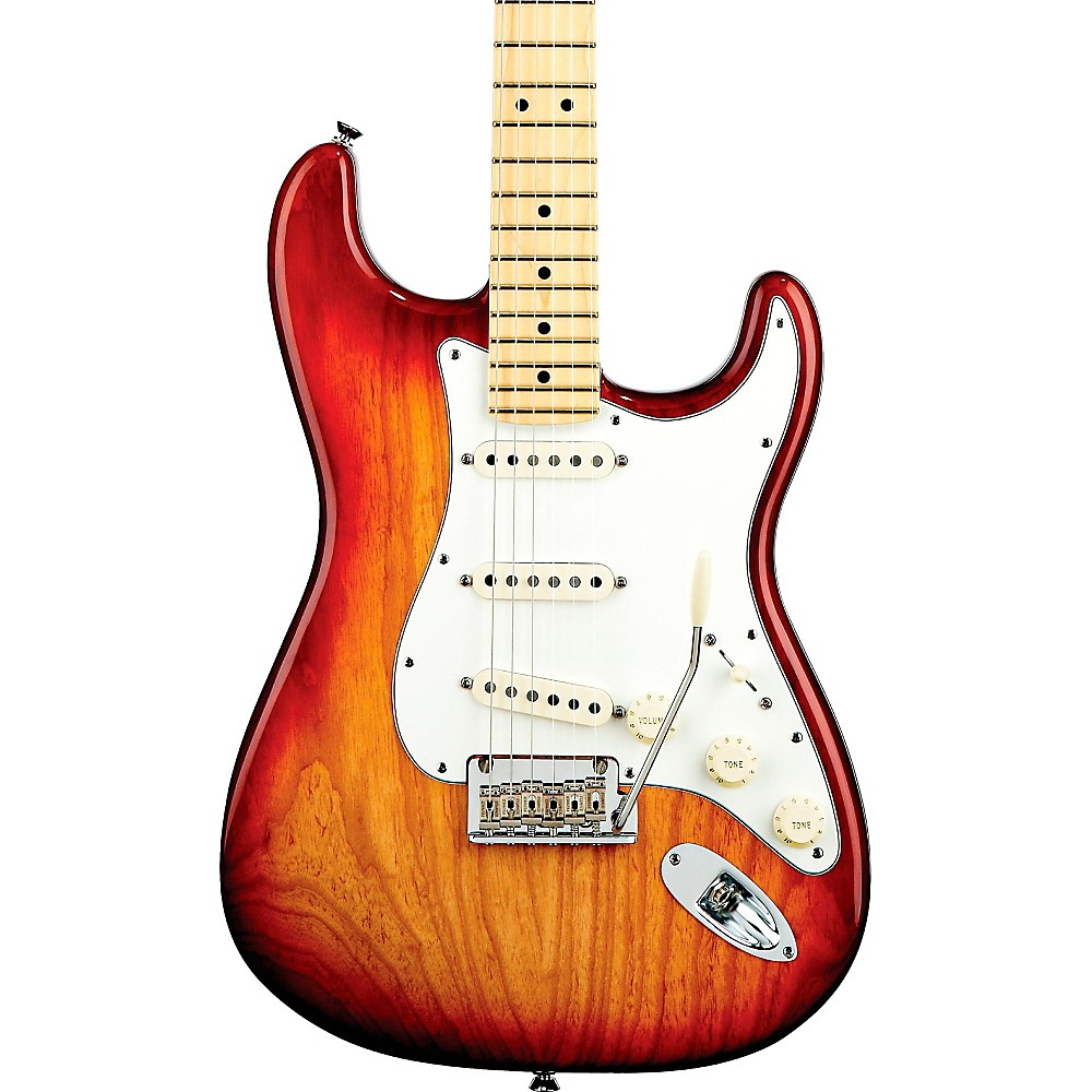 Fender American Standard Stratocaster Electric Guitar Sienna Sunburst Maple Fingerboard