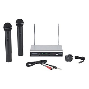 Samson Stage 266 Dual Handheld Wireless System Channels 3 & 21